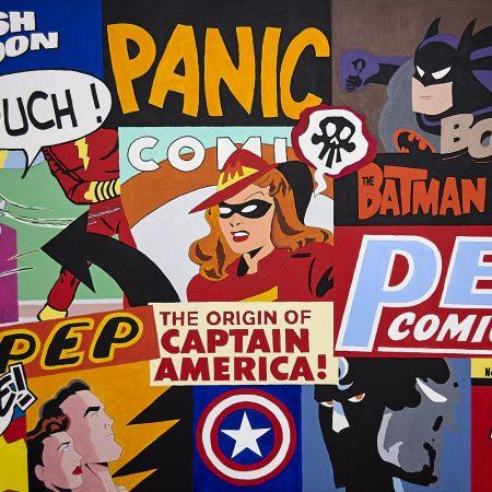 peintures Comics